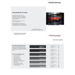 Scheibentönung   Autotönungsfolie   Flyer DIN...