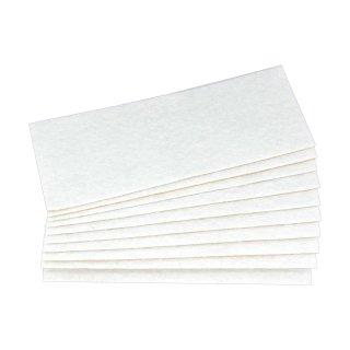 PTFE   Nadelfilz weiß   10 Stück