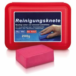 Reinigungsknete Rot/Scharf | Magic Clean