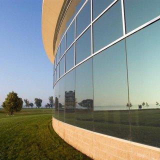 Splitterschutzfolien für Außenbereich 4 Mil clear XC | Rolle (30,5m) | 91 cm Breite